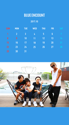 Calendar 2017.10
