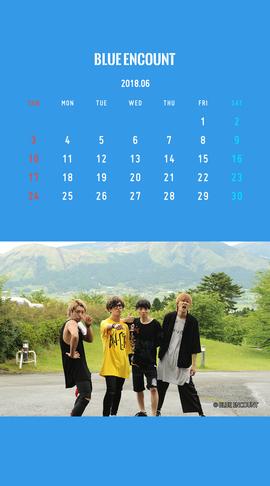 Calendar 2018.6