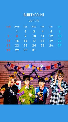 Calendar 2018.10